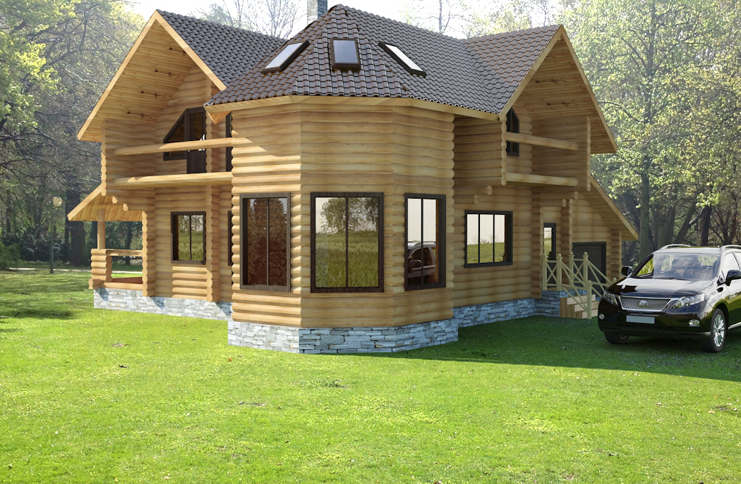 Design a custom house plan log home plans for Unique log home floor plans